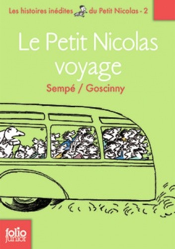 Okładka książki Le Petit Nicolas voyage