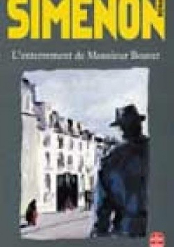 Okładka książki L'Enterrement de Monsieur Bouvet