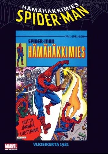 Okładka książki Hämähäkkimies vuosikerta 1981