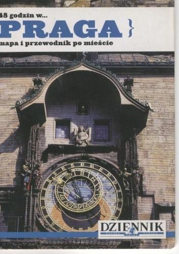 Okładka książki 48 godzin w... Praga. Mapa i przewodnik po mieście