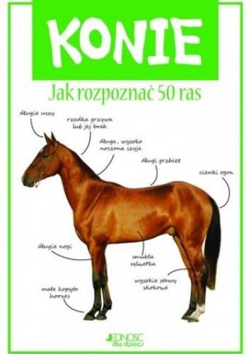 Okładka książki Konie. Jak rozpoznać 50 ras