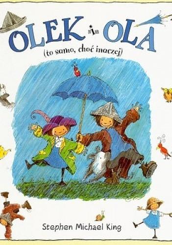 Okładka książki Olek i Ola: (to samo, choć inaczej)