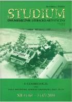 Studium. Dwumiesięcznik literacko - artystyczny, nr 4 (46) - 5 (47) 2004