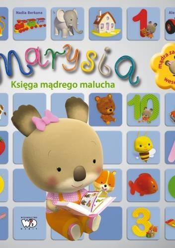 Okładka książki Marysia. Księga mądrego malucha.