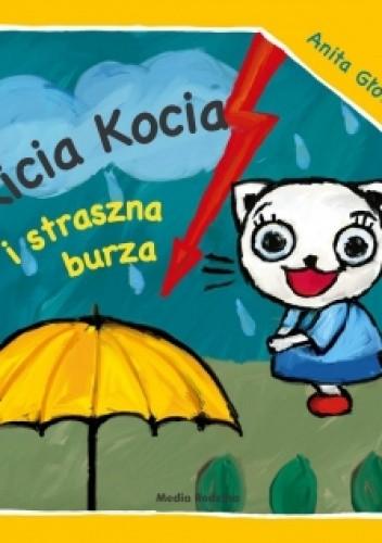 Okładka książki Kicia Kocia i straszna burza
