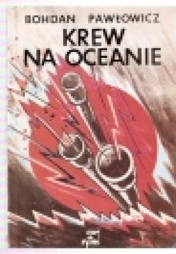 Okładka książki KREW  NA  OCEANIE