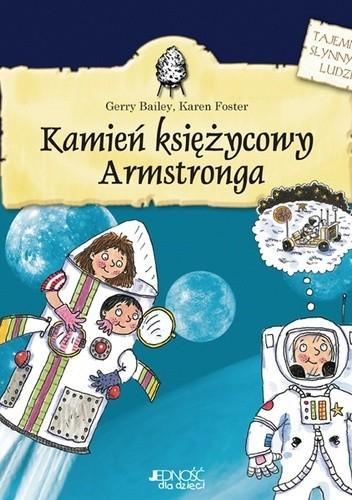 Okładka książki Kamień księżycowy Armstronga