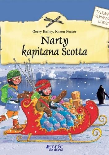 Okładka książki Narty kapitana Scotta