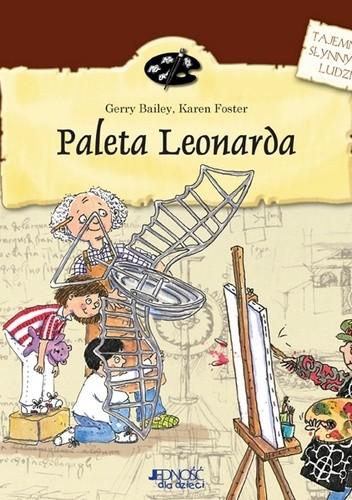 Okładka książki Paleta Leonarda