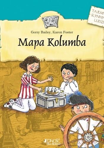 Okładka książki Mapa Kolumba