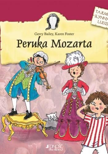 Okładka książki Peruka Mozarta