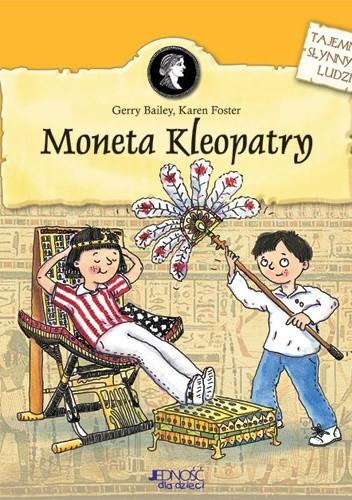 Okładka książki Moneta Kleopatry