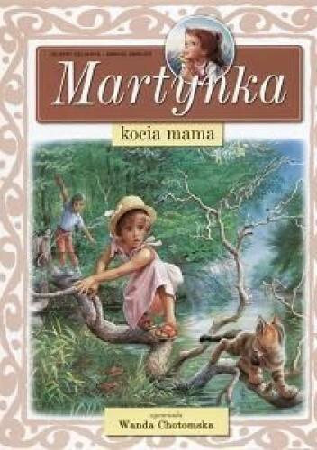 Okładka książki Martynka kocia mama