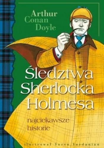 Okładka książki Śledztwa Sherlocka Holmesa