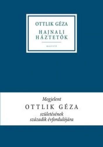 Okładka książki Hajnali háztetők