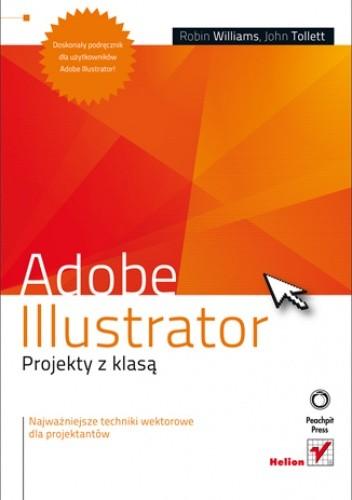 Okładka książki Adobe Illustrator. Projekty z klasą