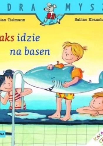Okładka książki Maks idzie na basen