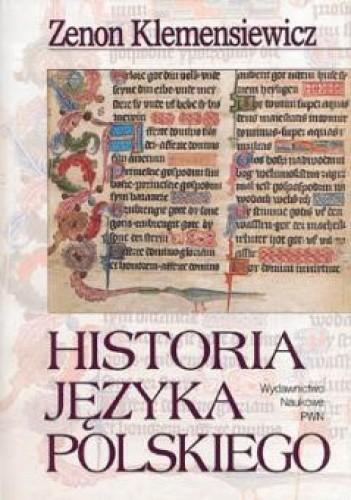 Okładka książki Historia języka polskiego