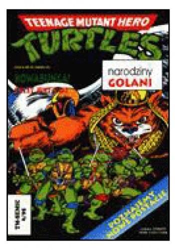 Okładka książki Teenage Mutant Hero Turtles 6/1995