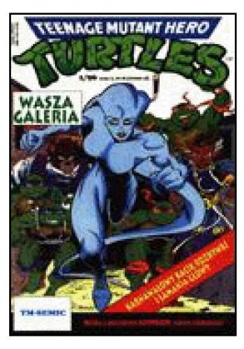 Okładka książki Teenage Mutant Hero Turtles 1/1996