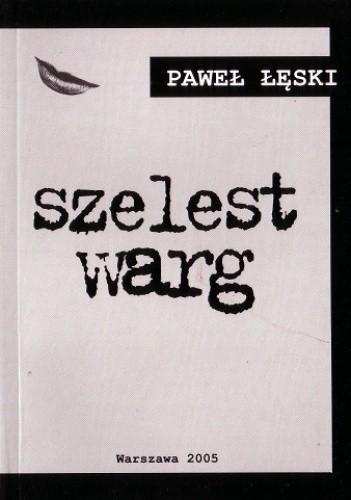 Okładka książki Szelest warg