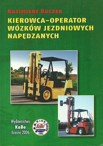 Okładka książki Kierowca-operator wózków jezdniowych napędowych