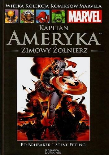 Okładka książki Kapitan Ameryka: Zimowy Żołnierz część 2