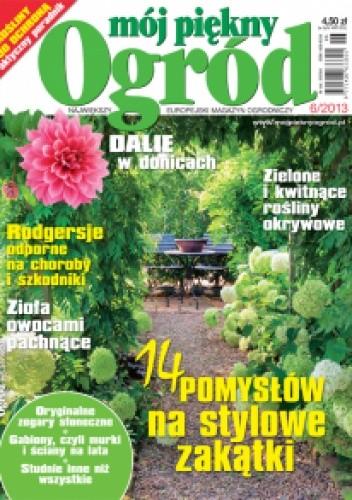 Okładka książki Mój piękny ogród 6/2013