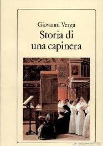 Okładka książki Storia di una capinera