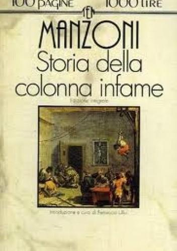 Okładka książki Storia della Colonna Infame