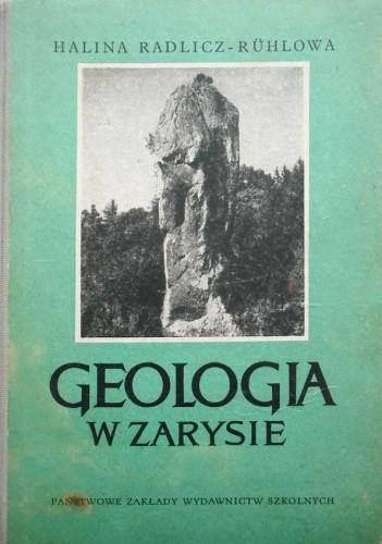 Okładka książki Geologia w zarysie