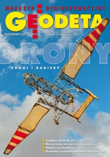 Okładka książki Geodeta. Magazyn geoinformacyjny, nr 10 (209) / 2012
