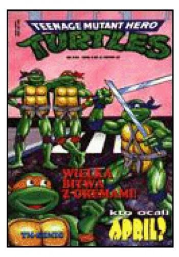 Okładka książki Teenage Mutant Hero Turtles 2/1996