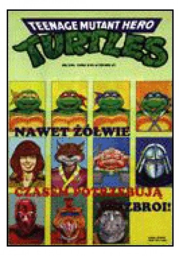 Okładka książki Teenage Mutant Hero Turtles 3/1996