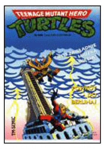 Okładka książki Teenage Mutant Hero Turtles 4/1996