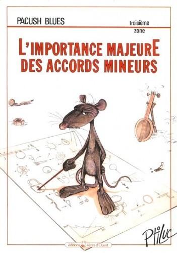 Okładka książki Pacush Blues - 03 - Troisième zone: L'importance majeure des accords mineurs