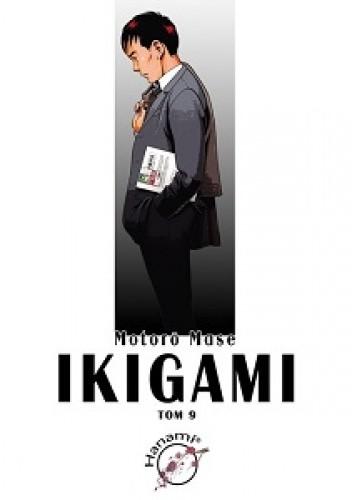 Okładka książki Ikigami #9