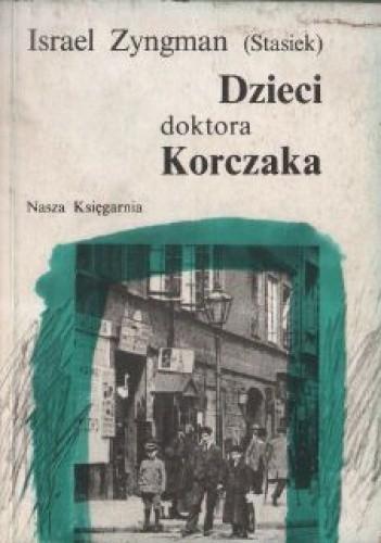 Okładka książki Dzieci doktora Korczaka