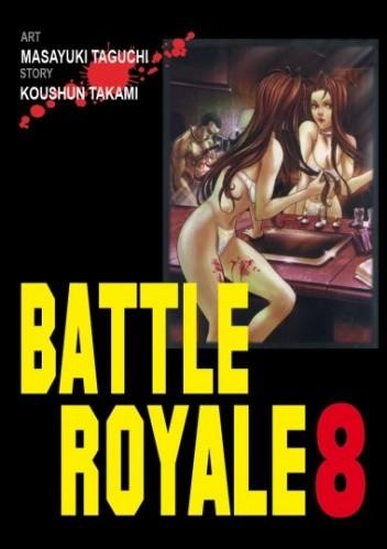 Okładka książki Battle Royale 8
