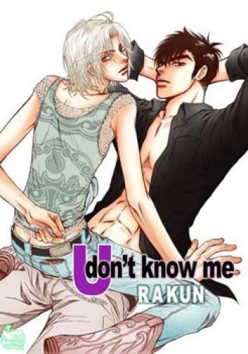 Okładka książki U Don't Know Me