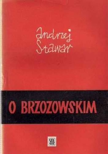 Okładka książki O Brzozowskim i inne szkice