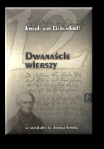 Okładka książki Dwanaście wierszy w przekładzie ks. Jerzego Szymika