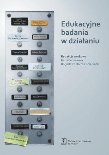Okładka książki Edukacyjne badania w działaniu