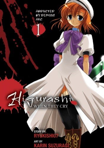 Okładka książki Higurashi When They Cry, Volume 1