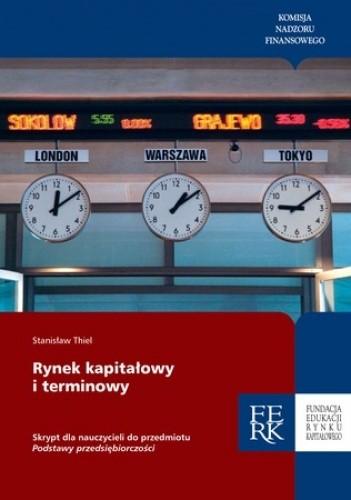Okładka książki Rynek kapitałowy i terminowy