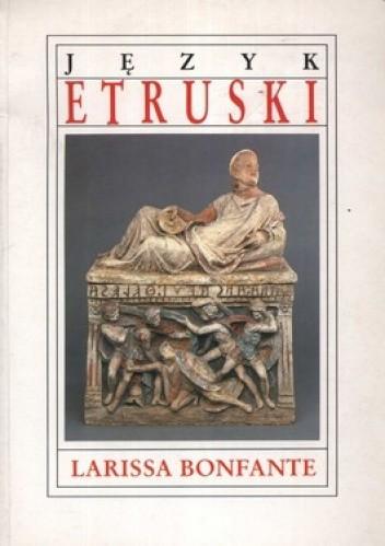 Okładka książki Język etruski