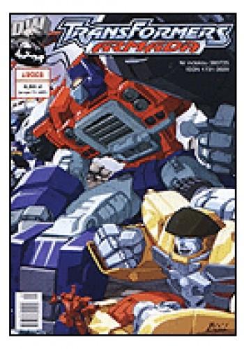 Okładka książki Transformers Armada 1/2003