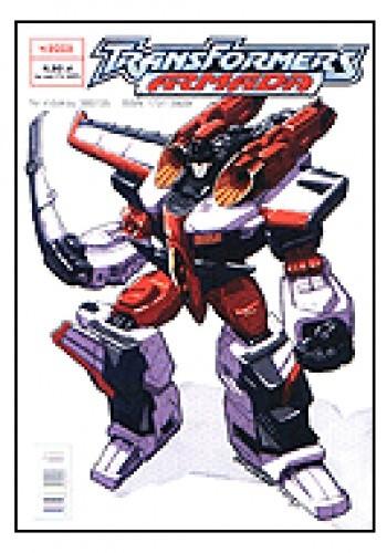 Okładka książki Transformers Armada 4/2003