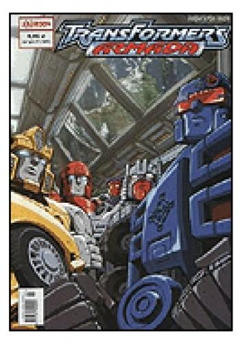 Okładka książki Transformers Armada 1/2004