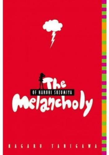 Okładka książki The Melancholy of Haruhi Suzumiya